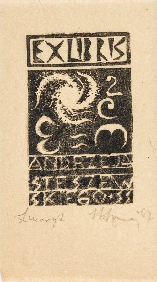 Szmaj Stefan (1893-1970), Zestaw 9 ekslibrisów, 1962-1968
