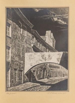Jan Dziewałtowski-Gintowt (1904-1980), Wilno. Ulica Juliana Klaczki, 1935