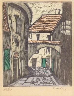 Malicki Stanisław (1903-1960), Zaułek wileński, 1942