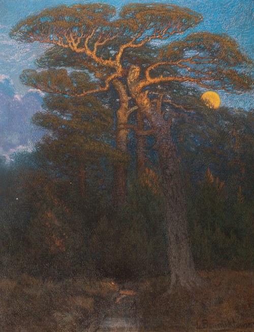 Ludomir Benedyktowicz (1844-1926), Nad ginącą drożyną, 1909