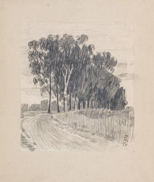 Jadwiga Gałęzowska-Malinowska (1876-1948), Droga przez brzezinę, przed 1914