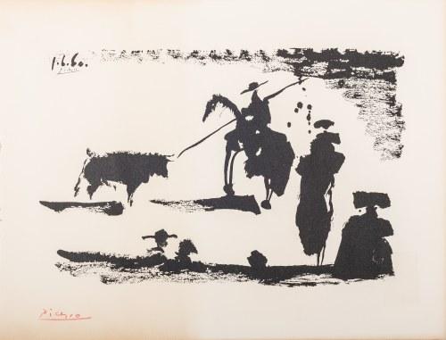 Pablo Picasso (1881-1973), Corrida. Avant la pique, 1960