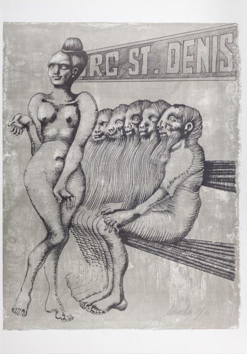 Jan Lebenstein (1930-1999), Bulwar St. Denis, 1977