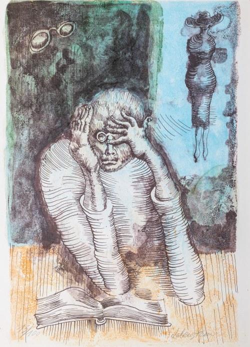 Jan Lebenstein (1930-1999), Czytający, lata 70. XX wieku