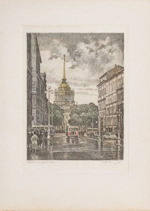 Nikołaj Aleksandrowicz Pawłow (1899-1968), Leningrad [Sankt Petersburg], 1957 [Zestaw 12 akwafort barwnych]