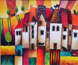 Tadeusz Rogowski, Miasto kotów