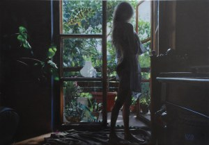 Ewa Pello (ur. 1964), Zielone Smoki, 2021