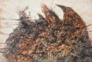 Ryszard Tomczyk (1931-2020), Mnisi drzew II, 1997