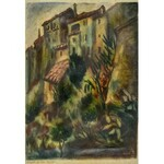 Henryk LEWENSZTADT (1893-1962), Pejzaż z Cannes, 1930