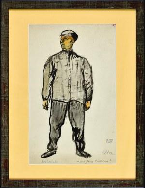Otto AXER (1906-1983), Kozłowski - projekt kostiumu