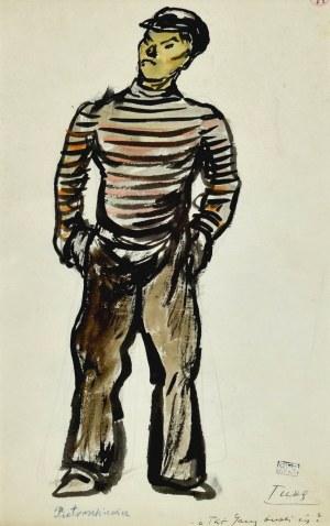 Otto AXER (1906-1983), Pietraszkiewicz - projekt kostiumu