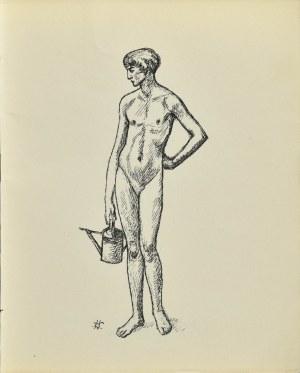 Wlastimil HOFMAN (1881-1970), Fragment z tryptyku