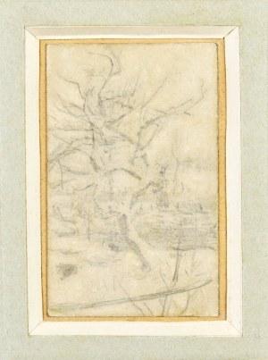 Witold PRUSZKOWSKI (1846-1896), Szkic drzew, ok. 1872-1879