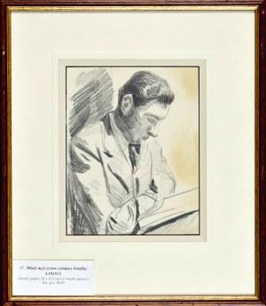 Stanisław KAMOCKI (1875-1944), Młody mężczyzna czytający książkę, I 1925 (?)