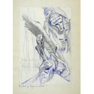 Janina MUSZANKA - ŁAKOMSKA (1920-1982), Bitwa pod Grunwaldem - detal, ok. 1970