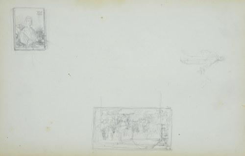 Stanisław CHLEBOWSKI (1835-1884), Miniaturowy zapis dwóch obraz