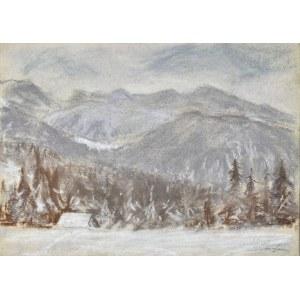 Władysław SERAFIN (1905-1988), Góry zimą