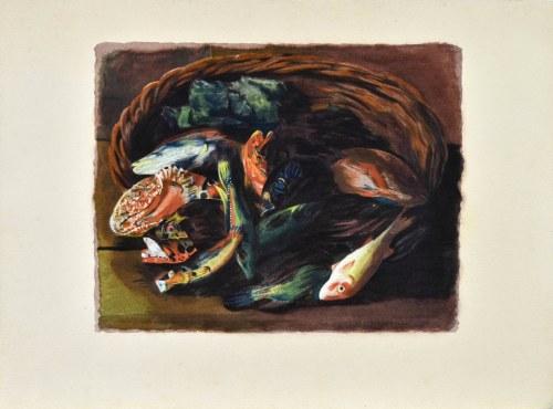 Mojżesz KISLING (1891 - 1953), Les poissons