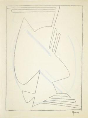 Zdzisław (CYAN) CYANKIEWICZ (1912-1981), Kompozycja XXXVI