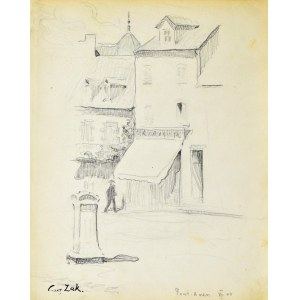 Eugeniusz ZAK (1887-1926), Motyw z Pont - Aven