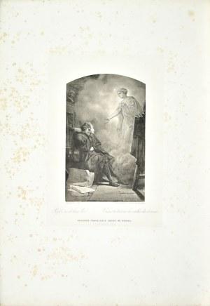 """Artur GROTTGER (1837-1867), """"Pójdź w dolinę łez."""""""