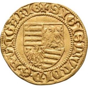 Uhry, Zikmund Lucemburský, 1387 - 1437, Dukát (1392-1396) B, Buda-Ferenc Bernardi, svatý