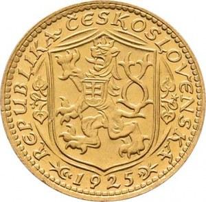 Československo, období 1918 - 1939, Dukát 1925 (raženo 66.279 ks), 3.489g