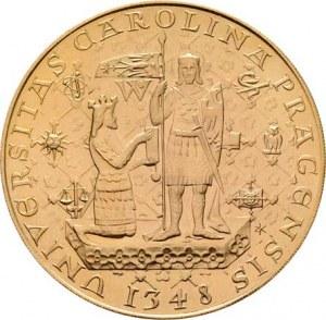 Československo, období 1960 - 1990, 5 Dukát 1978 - Karel IV. (pouze 3646 ks), 17.449g