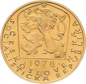 Československo, období 1960 - 1990, Dukát 1978 - Karel IV. (pouze 7707 ks), 3.490g,