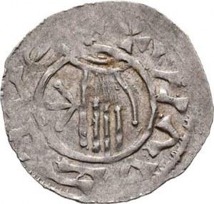 Boleslav II., knížetem v Čechách 972 - 999, Denár, Ca.86, F.V/16 (369), 1.505g, nep.exc.,