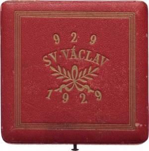 Šejnost Josef, 1878 - 1941, Etue k medaili na dokončení velechrámu sv.Víta 1929,