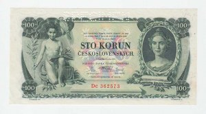 Československo - bankovky Národ. banky Československé, 100 Koruna 1931, série Dc, BHK.25c, He.25b2.