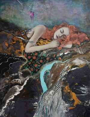 Patrycja Kruszyńska-Mikulska, Śpiąca, 2021
