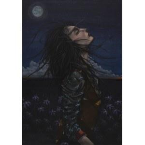 Jonasz Koperkiewicz, Kissing the night sky, 2017