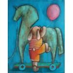 Justyna Michalska-Bąk (ur. 1976), Jak się wspinać, to na wysokiego konia, 2021