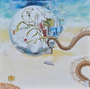Dariusz Franciszek Różyc (ur. 1978), Uwaga - Smok!, 2021