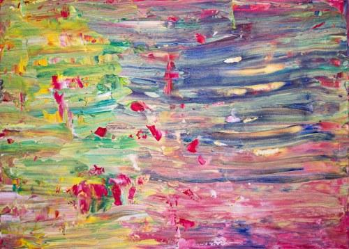 Dominik Smolik (ur. 1982), Colorful tectonics, 2021