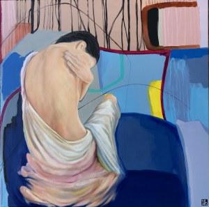 Zanna Brzyzek (ur. 1980), Za niebieską taflą wody, 2021