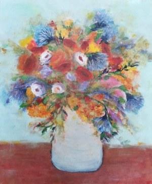 Ika Kay (pseud., ur. 1984), Kwiaty w wazonie, 2021