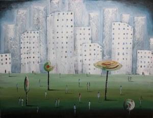 Filip Łoziński (ur. 1986), Osiedlowy park, 2021