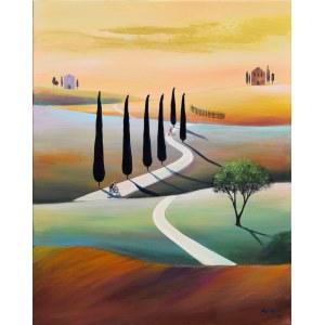 Luiza Los-Pławszewska (ur. 1963), W drodze do Vallone, z cyklu: