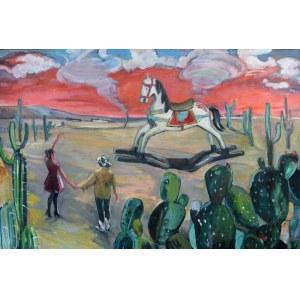 Marcelina Siwiec (ur. 1990), Wyprawa na dziki zachód, 2021