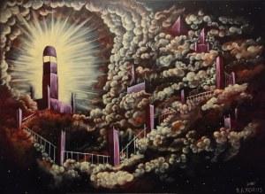 Mikołaj Korus (ur. 1998), I stała się światłość, 2021
