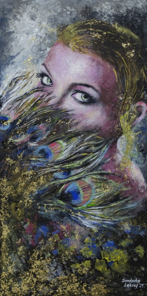 Anna Sandecka-Ląkocy (ur. 1970), Green Eyes 2021