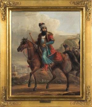 Aleksander ORŁOWSKI (1777-1832), Dostojnik perski na koniu