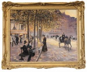 Giuseppe DE SANCTIS (1858-1924), Paryska ulica