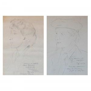 Wlastimil HOFMAN (1881-1970), Para portretów Marii i Stanisława Dawskich