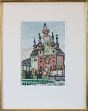 Nikifor KRYNICKI (1895-1968), Cerkiew Krynicka