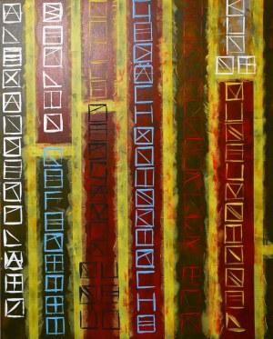 Bartłomiej Bart DYRCZ, BERLIN, Zapis do kwadratu / An entry in a square