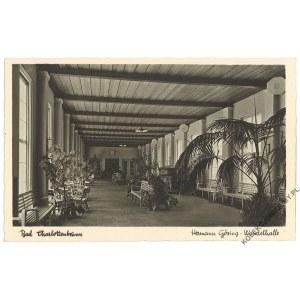 [JEDLINA ZDRÓJ] Bad Charlottenbrunn. Hermann Göring-Wandelhalle